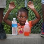 Child at Mike Brown protest. Photo: ABC News