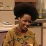 Vanessa... that afro...